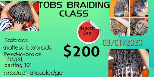 Basic African Braiding class