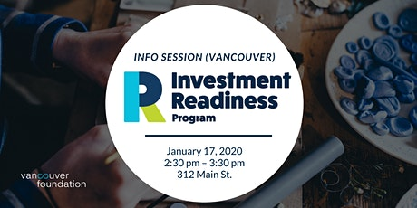 Vancouver Foundation Investment Readiness Program Info Session (Vancouver) tickets