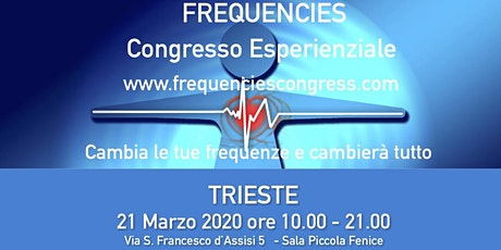 III. Frequencies Congress  biglietti