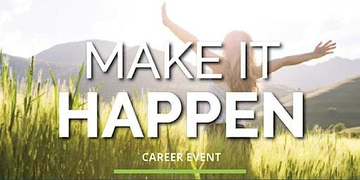 Make It Happen Career Event - Scarborough Campus