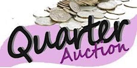 Quarters for A Cure  - Quarter Auction tickets
