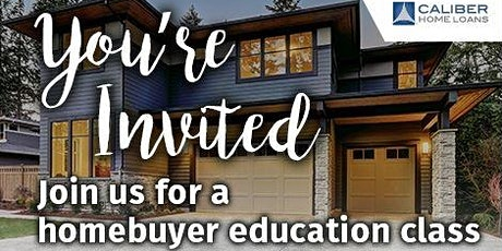 HOMEBUYER EDUCATION AND DOWN PAYMENT ASSISTANCE CLASS tickets