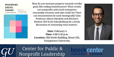 Measuring Social Change: A Book Launch with Alnoor Ebrahim tickets