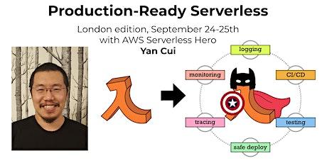 Production-Ready Serverless (2 days, incl. VAT) tickets