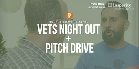 Bunker Brews Detroit: Vets Night Out - Pitch & Drive tickets