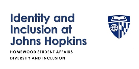 JHU Identity and Inclusion Workshop Spring 2020 tickets
