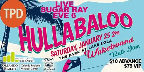 The Hullabaloo sponsored by Thornton Park District!