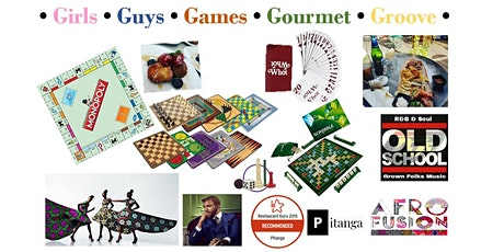 Girls Guys Games Gourmet Groove  2020 (5G) tickets