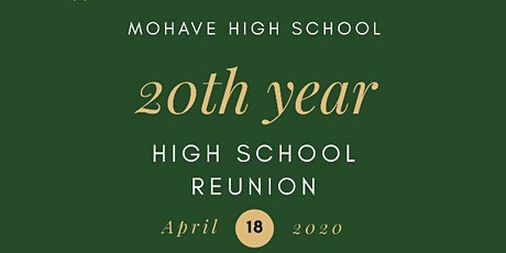 Mohave High School 20 year Reunion tickets