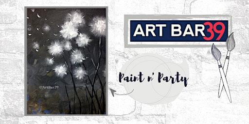 Paint & Sip | ART BAR 39 | Public Event | Make a Wish