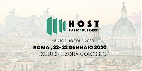 Host B2B mentoring tour Roma biglietti