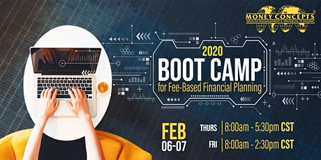 Boot Camp for Fee-Based Financial Planning tickets