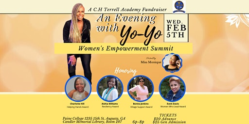 """An Evening with YO-YO"" Women's Empowerment Summit"