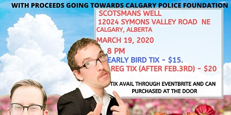 The Human Condition Spring Comedy Tour - Calgary, AB tickets