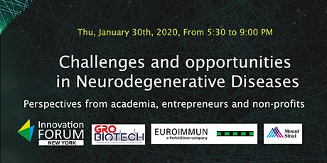 Challenges and opportunities  in Neurodegenerative tickets
