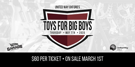 Toys for Big Boys tickets