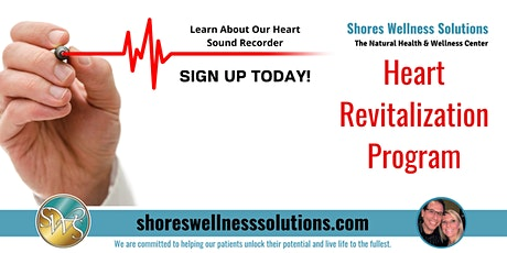 Heart Revitalization Program: It Can Make All the Difference tickets