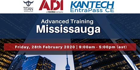 Mississauga Advanced Kantech Training - ADI tickets