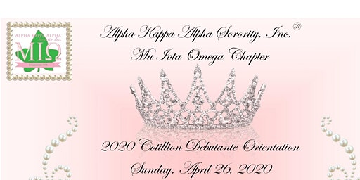 2020 Cotillion Debutante Orientation