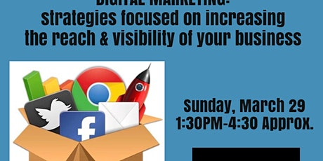 Digital Marketing: Visibility Strategies for Business tickets