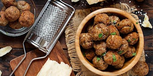 Intermediate Kid's Kitchen: Swedish Meatballs