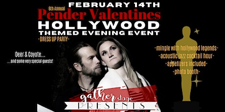 PENDER VALENTINES - HOLLYWOOD themed party - Deer  tickets
