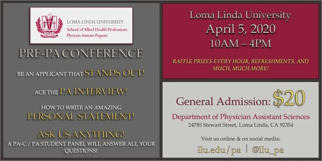 LLU's 3rd Annual Pre-PA Conference tickets
