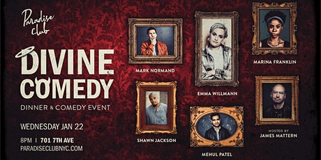 Divine Comedy: Dinner & Comedy Event tickets