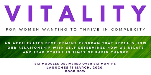 VITALITY - A program for women wanting to thrive in complexity
