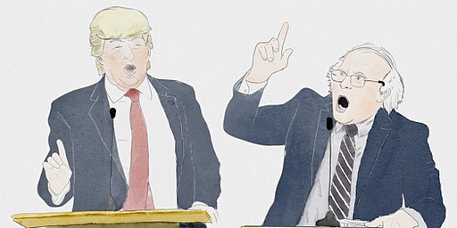 Trump vs. Bernie: The Debate! starring Anthony Atamanuik & James Adomian