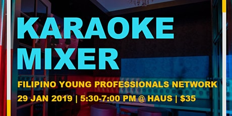 Filipino Young Professionals Karaoke Mixer tickets