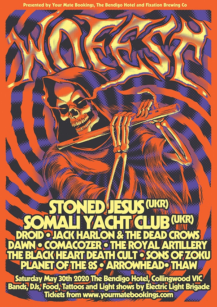 WO FEST 2021 (Rescheduled from 2020) w/ Stoned Jesus and Somali Yacht Club image