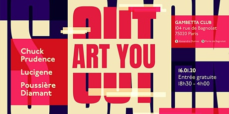 Art You Out billets
