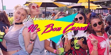 Jacksonville 90s Throwback Bar Crawl tickets