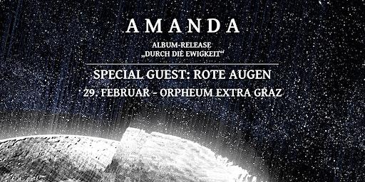 Amanda - Album-Releasekonzert | Special Guest: Rote Augen - Orpheum Extra