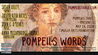 Pompeii's Table: the Words tickets