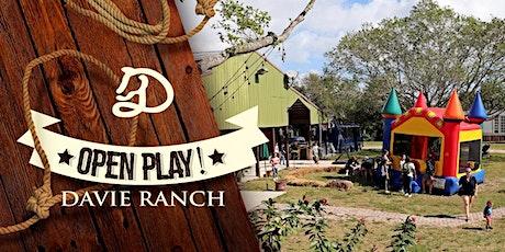 March Davie Ranch Open Play tickets