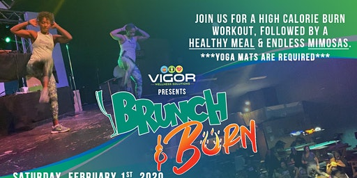 Vigor Wellness Brunch & Burn