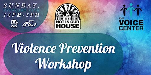 Spring 2020 Violence Prevention Workshop