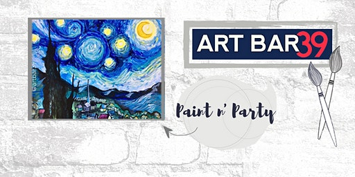 Paint & Sip | ART BAR 39 | Public Event | Starry Night