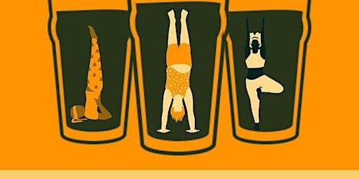 Vinyasa Flow Yoga at the Brewery