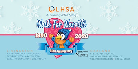 Walk for Warmth: Oakland County tickets