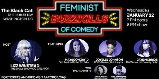 FEMINIST BUZZKILLS OF COMEDY