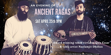 Qais Essar and Neelamjit Dhillon | AN EVENING OF ANCIENT RAGAS tickets