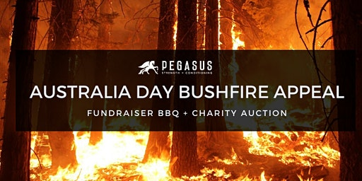 Australia Day Bushfire Fundraiser | Pegasus Strength and Conditioning