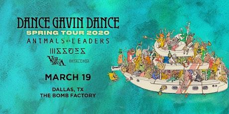 Dance Gavin Dance at The Bomb Factory tickets