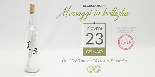 Messaggi in bottiglia 23/01/2020