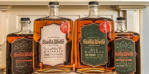 Stoll and Wolfe Distillery Tour and Tasting - 2/7/20 - 6PM Tour