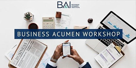 Business Acumen  Workshop - NYC tickets