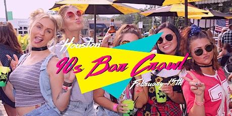 Houston 90s Throwback Bar Crawl tickets